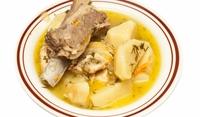 Свинско варено с картофи