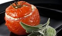 Пържени домати със сирене