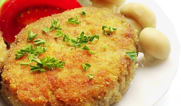 Картофени кюфтета с праз и гъби