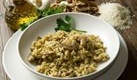 Ориз с гъби и маслини по китайски