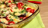 Запеканка от патладжани и домати