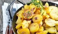 Мариновани картофи на скара