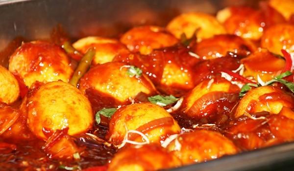 Глазирани картофи