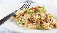 Тиквички с ориз и гъби