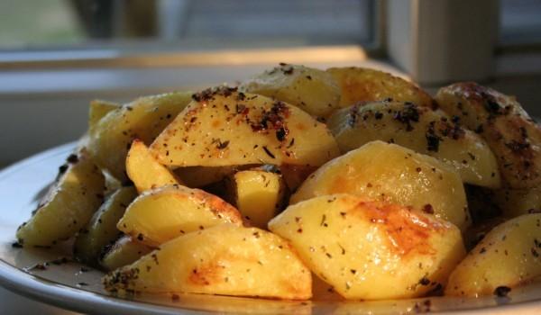 Картофи в микровълнова