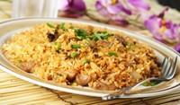 Ориз с гъби на фурна