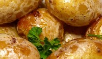 Картофи със солена коричка