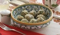 Орехови кюфтенца със спанак