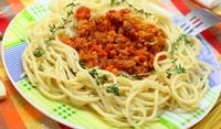 Венец от спагети