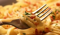 Спагети с шунка и гъби