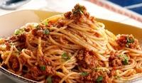 Спагети Болонезе с риган