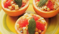Грейпрут с паста и царевица