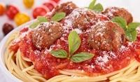 Спагети с кюфтета от месо