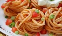 Спагети на тиган