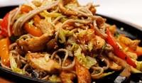 Спагети по китайски с месо