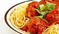 Спагети с кюфтета