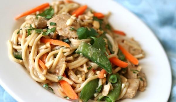 Спагети по азиатски