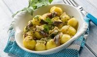 Картофена салата с аншоа