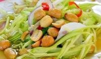 Китайска салата с фъстъци