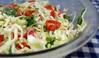 Бърза ракиена салата