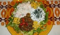 Ордьовър от салати