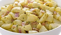 Зимна салата с картофи