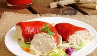 Пълнени чушки с риба тон
