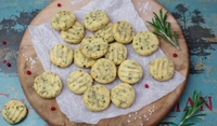 Крекери с босилек без брашно