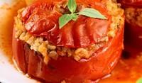 Пълнени домати с ориз по италиански