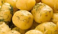 Люти картофи с лимон и чесън