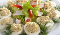 Фаршировани яйца за Сирни Заговезни