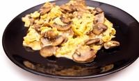 Пресни гъби с яйца
