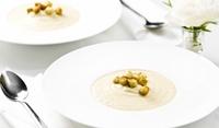 Веганска крем супа от карфиол