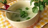 Супа от тиквички и кресон