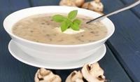 Гъбена крем супа с мащерка и джоджен