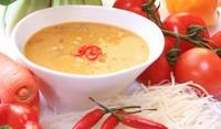 Крем супа от карфиол с домати