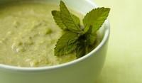 Крем супа с картофи и коприва