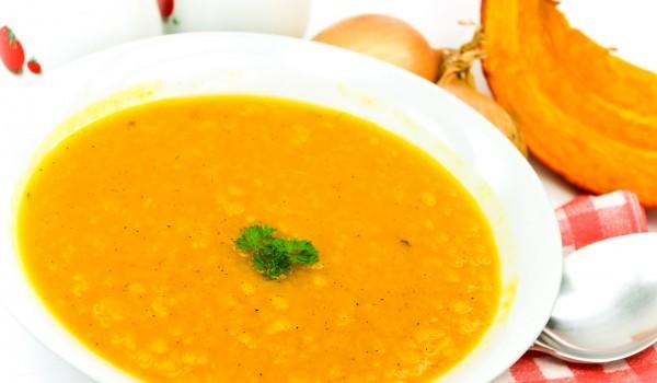 Супа с тиква и канела
