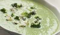 Зеленчукова крем супа с топено сирене