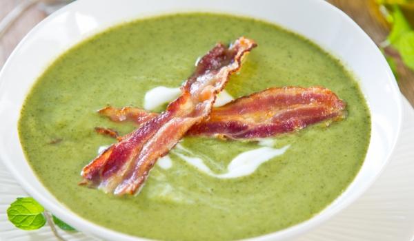 Супа с грах и бекон