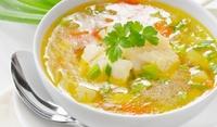 Картофена супа със зимен букет