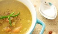 Индийска супа с червена леща