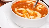 Естонска супа с яйца и фиде