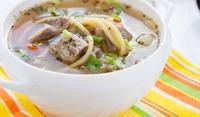 Картофена супа със свинско месо