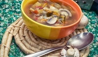 Супа от картофи и гъби