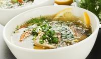 Зеленчукова рибена чорба