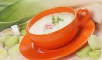 Супа от сирене с праз
