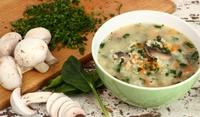 Ароматна гъбена супа