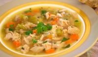 Супа от пуйка с фиде