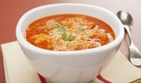 Доматена супа с кускус